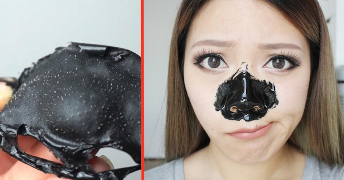 Black pearl peeling mask