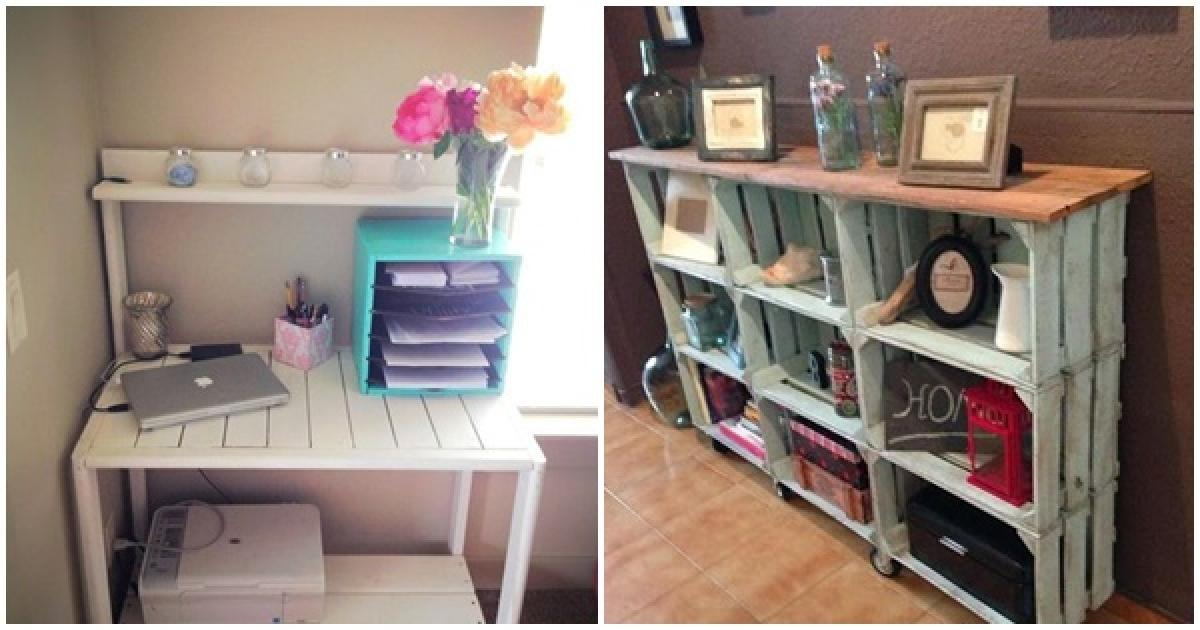 11 ideas creativas para reciclar palets de madera para - Decorar reciclando muebles ...