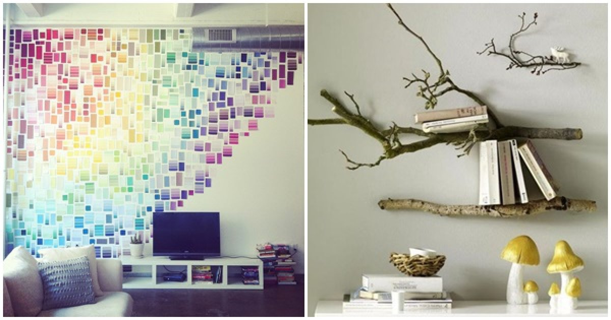 9 ideas creativas para decorar tu hogar y darle un estilo for Ideas de decoracion baratas y originales