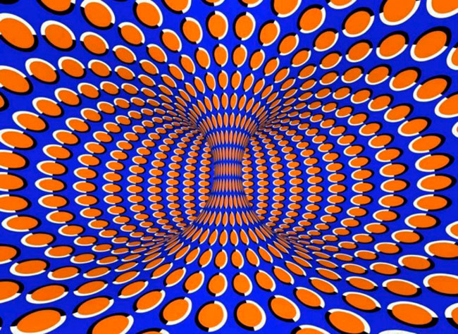 ilusion optica moviendose
